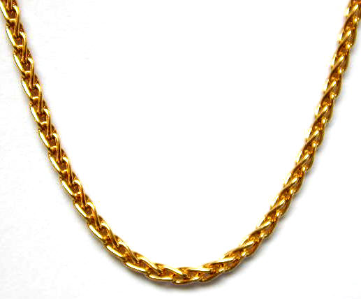 figaro glod necklaces mm chains chain products and gold